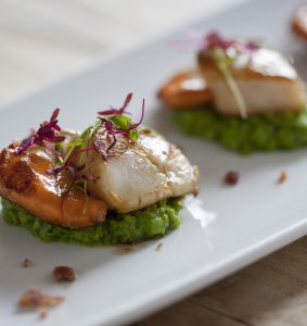 Ferry_Scallops with pea & mint puree (starters)_06